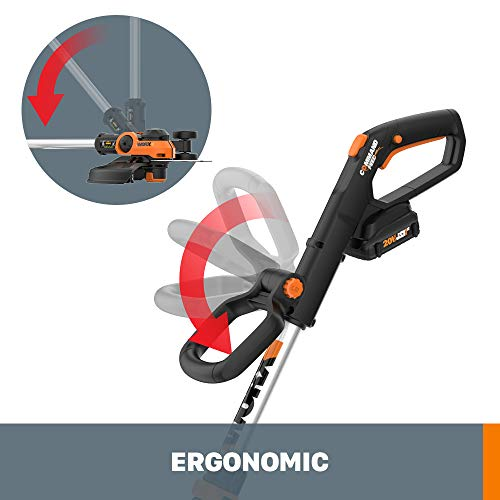 "Worx WG163.8 GT 3.0 20V PowerShare 12"" Cordless String Trimmer Edger, Battery and Charger"