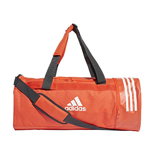 adidas 3-Stripes medium borsone arancione unisex DZ8694