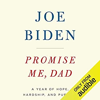 Promise Me, Dad audiobook cover art