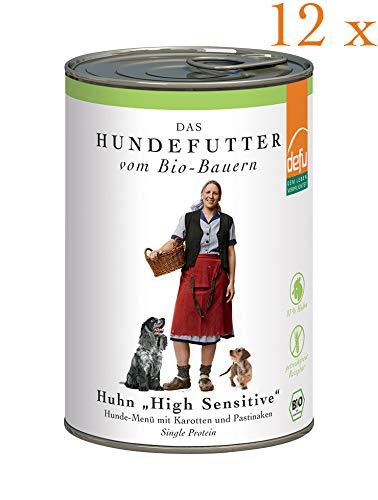 defu Vorteilspack Hund High Sensitive- Menü Huhn getreidefrei 12 x 410 g