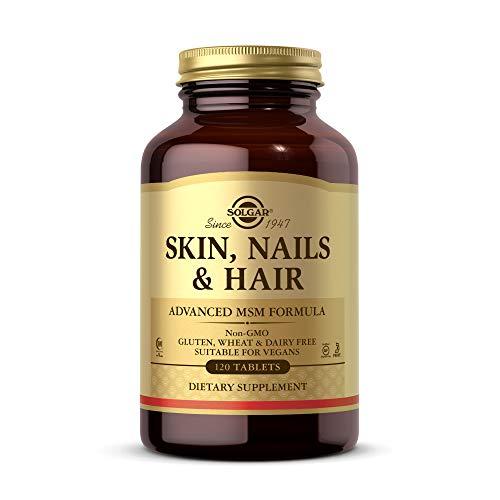 Solgar Comprimés pour la peau, les ongles et les cheveux - Paquet de 120