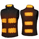 FERNIDA Electric Heated Vest Size Adjustable USB Charging Body Warmer Thermal Heating Vest Jacket(Battery Not Included) - size XL