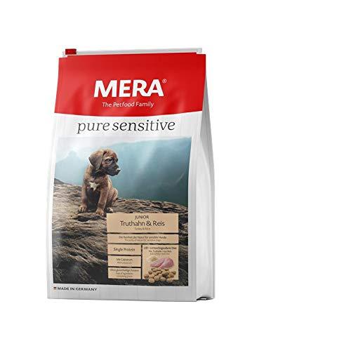 Mera Dog Pure Sensitive Junior Truthahn & Reis 1 kg