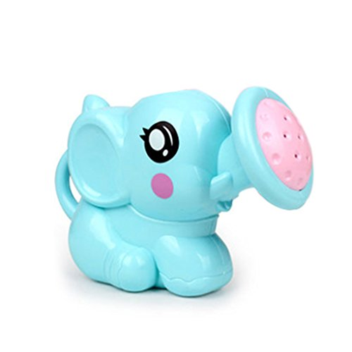 exing jarra de agua Mignon elefante pequeño juguete de baño para bebé juguetes herramientas de arena de la playa Agua de juego de juguetes de baño para niños talla única azul