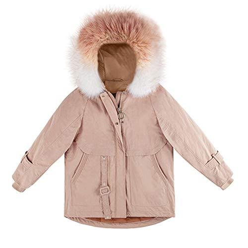 Grote bontkraag donsjack, dik en comfortabel om warm te blijven. Bij het presenteren aan vrienden, breng meer warmte Retro Medium Kleur
