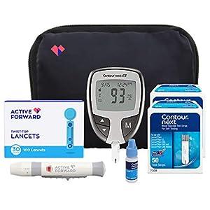 buy  Contour Next EZ Diabetes Testing Kit | Contour ... Blood Glucose Monitors