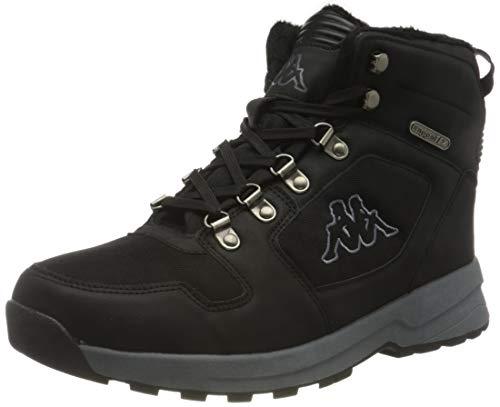 Kappa Unisex-Erwachsene Cook TEX Sneaker, 1116 Black/Grey,45 EU