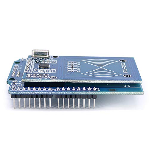 NFC Shield RFID RC522 Module RF IC Card Sensor + S50 RFID Smart Card for UNO/Mega2560 OPEN-SMART for Arduino - products that work with official for Arduino boards 5pcs Electronics Module Parts