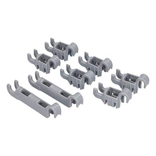 Clips de fijación para rodamiento de fila de púas plegables, para Bosch Siemens 611472 00611472