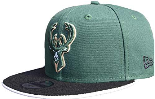 New Era Milwaukee Bucks TC 2 Tone Kids 9fifty 950 Youth Snapback Cap Teenager Size