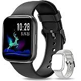 NAIXUES Smartwatch, Reloj Inteligente IP68 para Hombre, Reloj Deportivo con Monitor de Sueño Pulsómetro Podómetro...