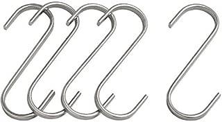 Dragonpad Grundtal Butcher Hanging Hook (S-Hook) 2.75in (7cm) 5-Pack Stainless