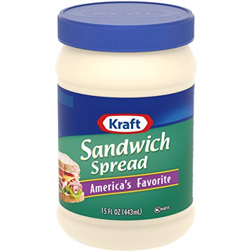 Kraft Sandwich Spread (15 oz Jars, Pack of 12)