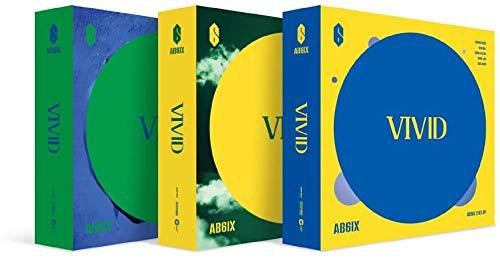 Brandnew Music AB6IX – VIVID (2. EP) Album + Vorbestellung + Faltenposter + Extra Fotokarten-Set V Ver.