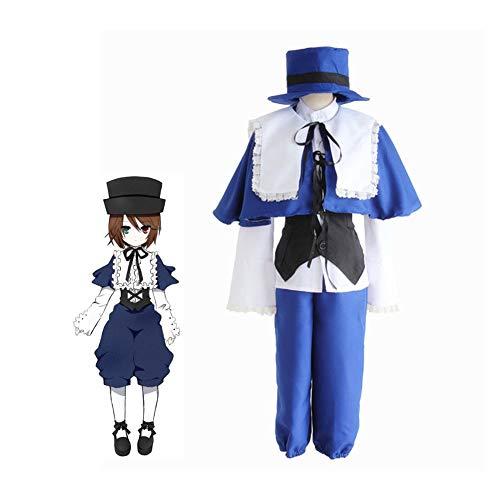 PAOFU-rozen Maiden Anime spel Souseiseki lapis lazuli ster cosplay kostuum Halloween carnaval prinsie in Beierse stijl