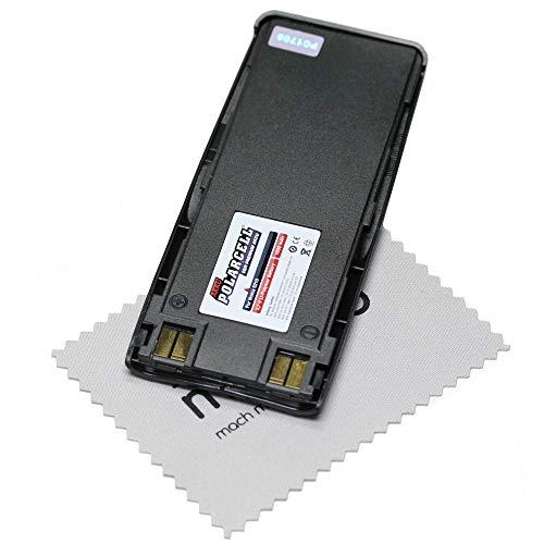 Ersatz Akku für Nokia 6310 6210 5110 7110 (entspricht Originalakku BPS-2/BLS-2N/BMS-2) Batterie PolarCell mit mungoo Bildschirmputztuch