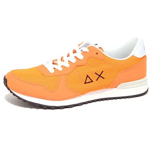 SUN 68 9101P Sneaker Arancio Fluo Scarpa Uomo Shoe Men [40]