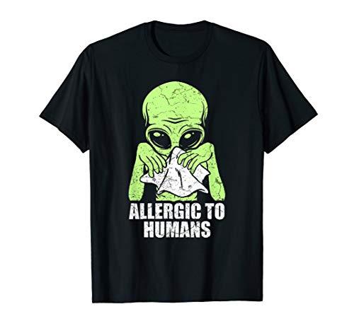 Alien Ufo Geschenk Ausserirdische Aliens T-Shirt