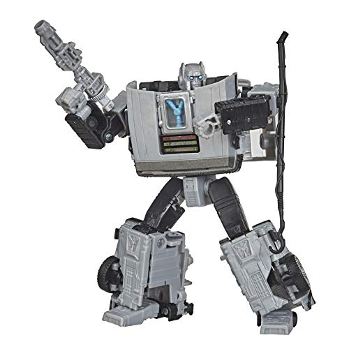 Transformers Toys Generations -- Transformers Collaborative: Back to The Future Mash-Up, Gigawatt -- Back to The Future-35 Edition - Ages 8 and Up, 5.5-inch