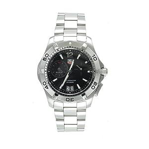 TAG Heuer Men's WAF111Z.BA0801 Aquaracer Alarm Stainless Steel Watch