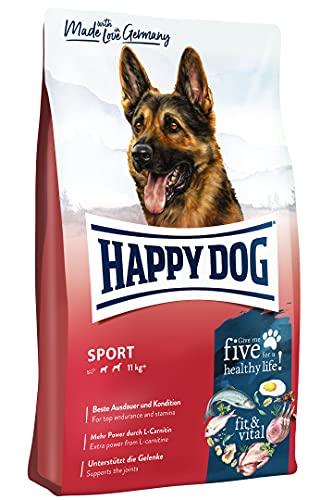 Happy Dog 60776 - Supreme fit & vital Sport - Alleinfutter für Hunde im Leistungs- / Sportbereich - 14 kg Inhalt