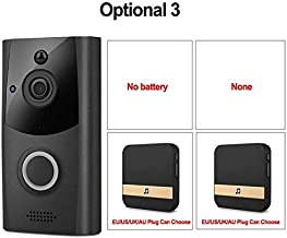 Camera Nest Doorbell Video Doorbell Doorbell Camera Nest Smart WiFi Video Doorbell Intercom System 720P Doorphone Camera T...