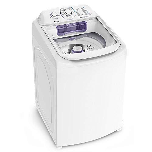 Máquina de Lavar 12kg Electrolux Turbo Economia, Silenciosa com Cesto Inox e Jet&Clean (LAC12) 127V