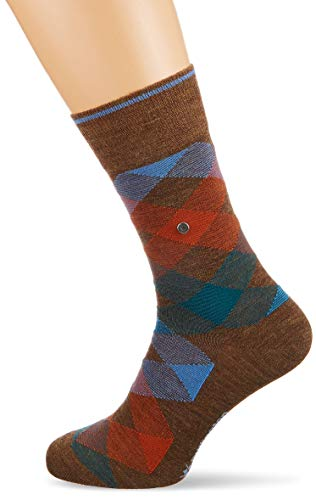 Falke Newcastle Chaussettes Homme, Beech, FR : M (Taille Fabricant : 40-46)