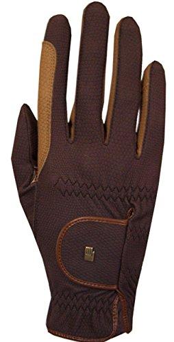 Roeckl Sports Winter Handschuh Malta, Unisex Reithandschuh, Mokka/Caramel, 8,5
