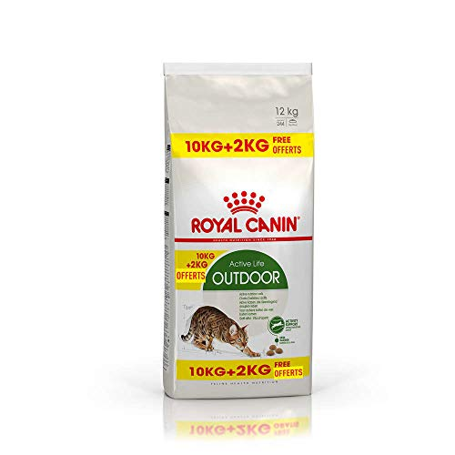 ROYAL CANIN Katzenfutter Feline Outdoor 30, 10+2 kg gratis, 1er Pack (1 x 12 kg)
