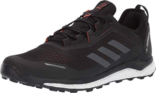 adidas outdoor Terrex Agravic Flow Black/Grey Six/Solar Orange 11.5
