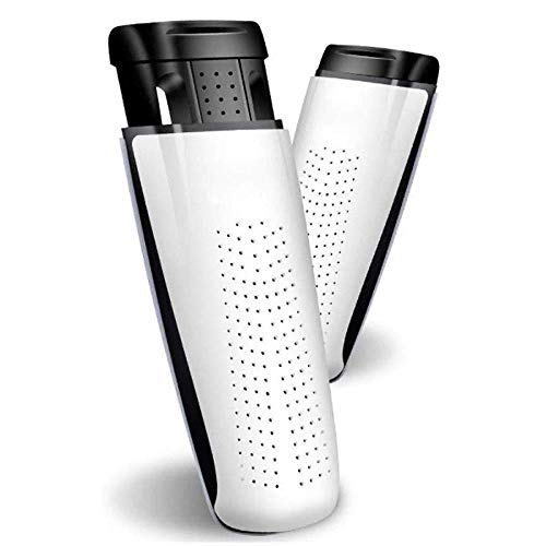 KaiKai 1-Pair Elektroschuhtrockner mit Timer- Schuhtrockner Schuhe Warmer Schuhe Trocknungseinrichtung Schuhe Heizung Entfeuchten Desinfektor Deodorizer (weiß)