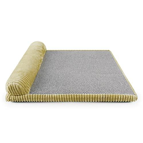 HBIN Tappetino per letto per cani Cuccia estiva in rattan Cuscino rimovibile lavabile in cotone Memoria per divano Tappetino per cucce per animali domestici Canile per sdraio Divano morbido per animal