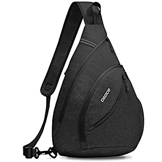 OSOCE Sling Bags, Cross body Left Right Handed Switchable Chest Bag for Sports (B07RSQQW7V) | Amazon price tracker / tracking, Amazon price history charts, Amazon price watches, Amazon price drop alerts