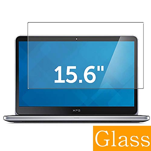 Synvy Tempered Glass Screen Protector for DELL XPS 15 L521X 15.6' Visible Area Protective Screen Film Protectors 9H Anti-Scratch Bubble Free