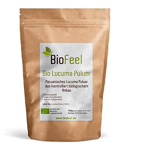 BioFeel - Lucuma Pulver - 100g - Spitzen Bioware