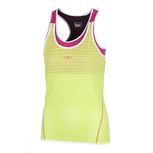 CMP de Course pour Loisirs T-Shirt débardeur Vert dryfu Multifunction Stretch Inner Top 3 C91776, Vert