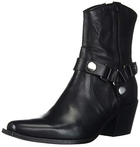 Charles David Women's Polo Ankle Boot, Black, 40 M EU (9.5,10,10.5,11 US)