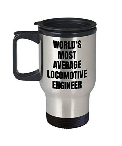 DKISEE Locomotief Ingenieur Reizen Mok - Geïsoleerde Tumblers Koffie Mok Tumbler Houd Dranken Koud & Hot Reizen Mok 14oz