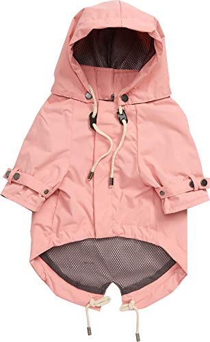 max bone: Talon Dog Raincoat – Rain Jacket for Pets - Available in 5 Sizes – Water Repellent –...