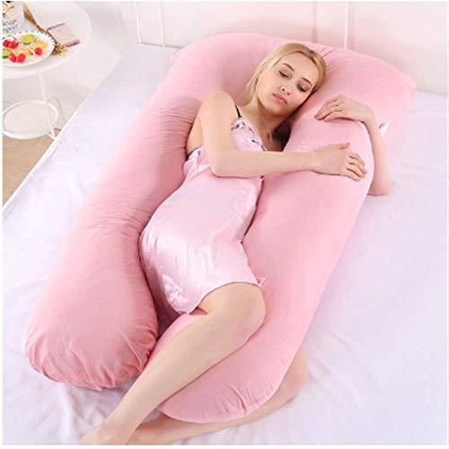 TMMDZZ 70 * 130Cm Mujeres Embarazadas U Forma Ropa De Cama Cojín Embarazo Lado Sleeper Almohada De Cuerpo Completo Maternidad Dormitorio Almohada Amamantando La Lactancia 70 * 130Cm A4