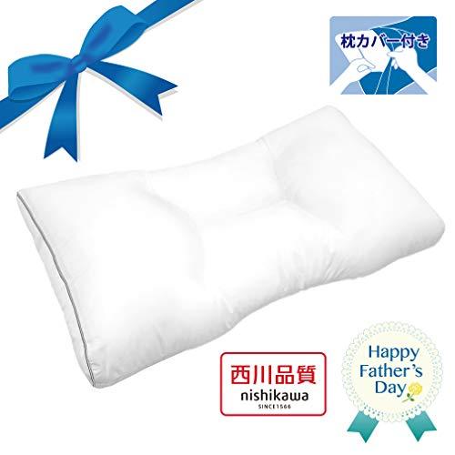 【Amazon.co.jp 限定】 東京 西川 SEVENDAYS スリープマスターが考えた 毎日 枕 70X39cm ゆったり ワイドサイズ 選べる高さ 高さキープ加工 西川品質 セブンデイズ ホワイト EH99350518M