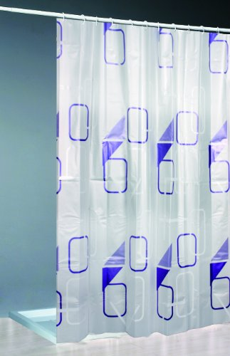Daloual Moderner Duschvorhang + Ringe 180x200 cm
