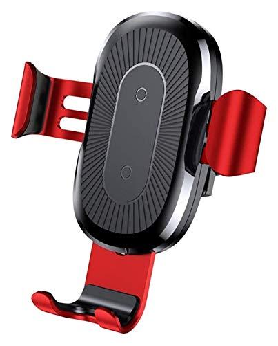 360DEG;Cargador de teléfono móvil del coche giratorio Cargador inalámbrico Cargador rápido para Apple X iPhone11PROMAX AIR OUTLET CENTRO MULTI-FONTFONE CONSOLE Soporte de navegación soporte móvil coch
