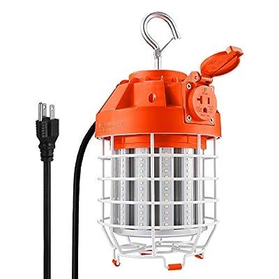High Bay LED Temporary Work Light Fixture, 5000K Daylight