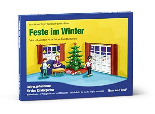 Feste im Winter: Spiele und Aktivitäten für die Zeit von Advent bis Karneval (Materialien für den Kindergarten)