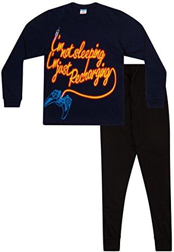 Pijama con texto en inglés