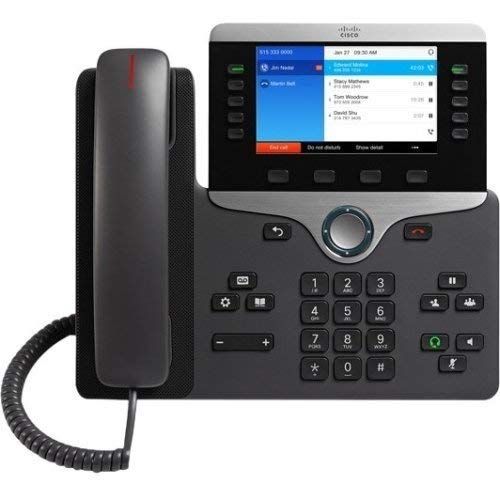 Cisco Systems, Inc - Cisco 8841 Ip Phone - Cable - Wall Mountable - Voip -...