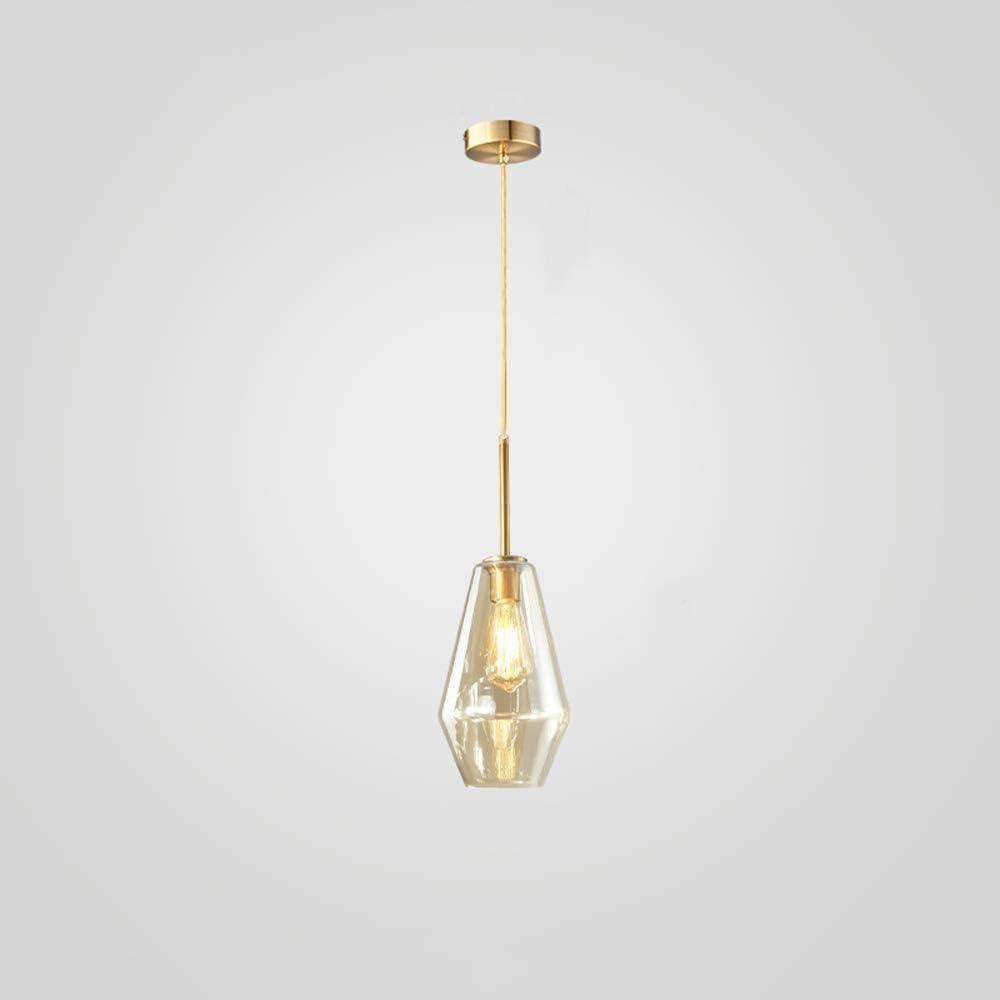 MUMUMI Modern half Loft Cord Pendant Wholesale Champagne Glass Lights Lampshade