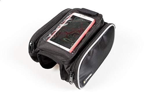 ON BIKE Sacoche porte-smartphone avec poches latérales universelles pour vélo